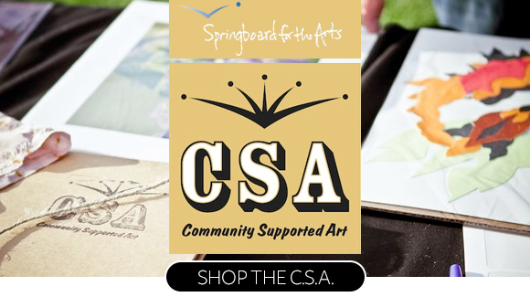 Click to shop the fifth-annual community-supported art at Springboard for the Arts