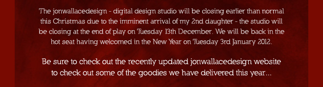 Latest news from jonwallacedesign